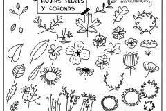 Hojas-flores-y-coronas